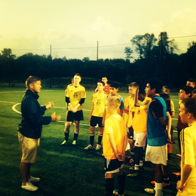 U14 US National Team Coach attends USSDA Training sessions