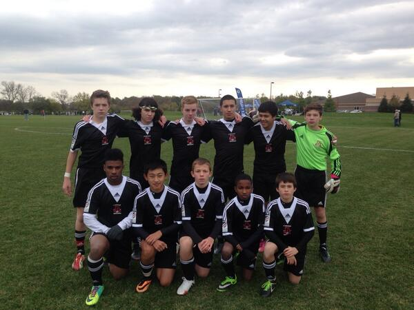 USSDA U14 Team Goes Undefeated in the first USSDA Showcase