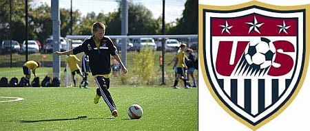 USSDA U14 Team Member Austin Holtebeck Attends US Soccer Training Center