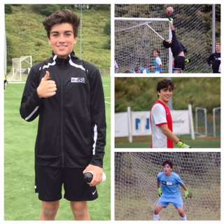 Santi Davila 1 of only 18 selected in the nation to attend id2 National International Tour