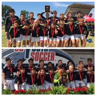 FC Wisconsin boys Win USYS Regional.  Earn another trip to a National Championship