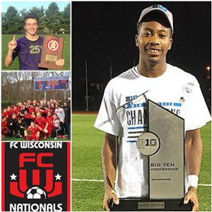 Conference Championships and Post Season bids for FC Wisconsin Alums