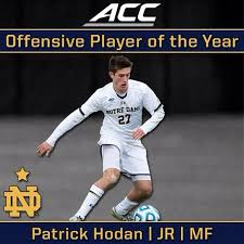 Hodan Ranked as Top Midfielder in NCAA Division I Soccer